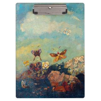 Butterflies by Redon Clipboards