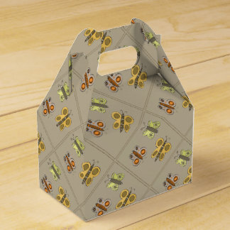 Butterflies Design Favor Box