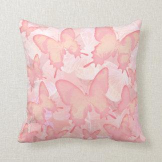 Butterflies Do It - Pink Cushion