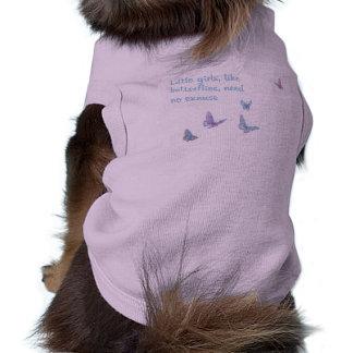 Butterflies Doggie T Shirt