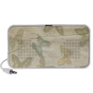 Butterflies Doodle Speaker