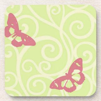 Butterflies Drink Coaster
