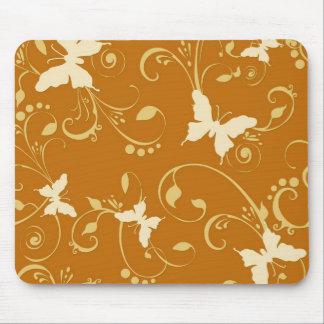 Butterflies Floral 10% Off Sale Mouse Pad