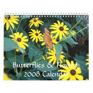 Butterflies & Flowers 2008 Calendar