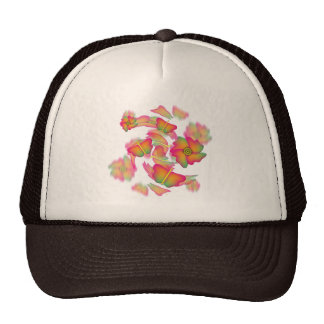 Butterflies & Flowers Cap