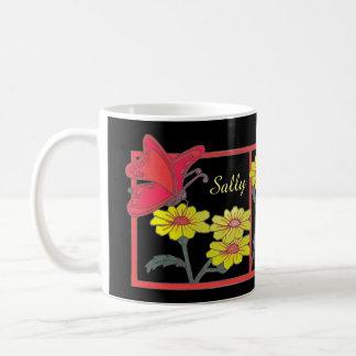 Butterflies & Flowers II Classic Mug