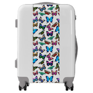 Butterflies Fluttering By Carry On Luggage