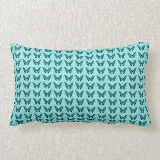 Butterflies Fly Free -BLUE-LUMBAR_Pillow-Decor Lumbar Cushion