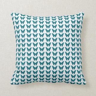 Butterflies-Fly-Free_Blue-White-HOME-DECOR Cushion