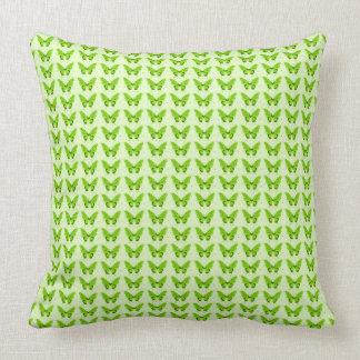 Butterflies Fly Free -Green-Home-Pillow-Decor Cushion