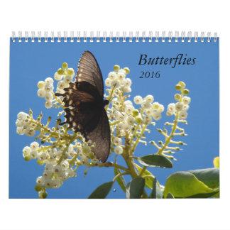 Butterflies for 2016 calendars