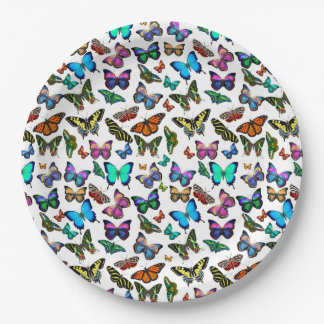 Butterflies Galore Paper Plates