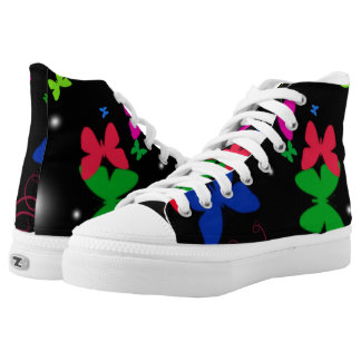 Butterflies! High Tops