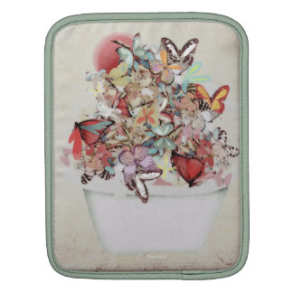 Butterflies Icecream Rickshaw Sleeve Sleeve For iPads
