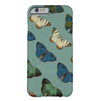 Butterflies in Blue Barely There iPhone 6 Case