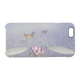 Butterflies in flight in a Zen landscape Clear iPhone 6/6S Case