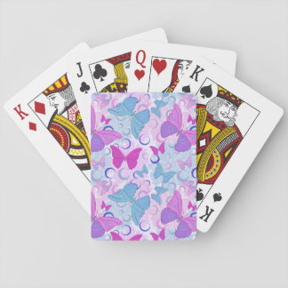 Butterflies in Flight Poker Deck
