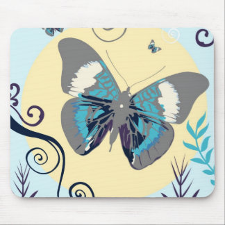 Butterflies in the day mouse pad