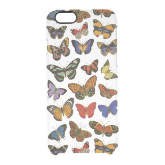 Butterflies iPhone 6/6S Clear Case