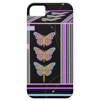 Butterflies Morphing Box Design by Sharles iPhone 5 Cover