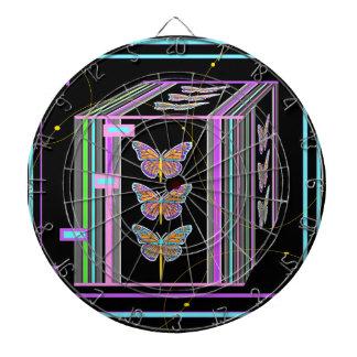 Butterflies Morphing Box Design by Sharles Dartboard