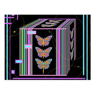 Butterflies Morphing Box Design by Sharles Postcard