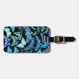 Butterflies Moths Luggage Tag Two-Sided