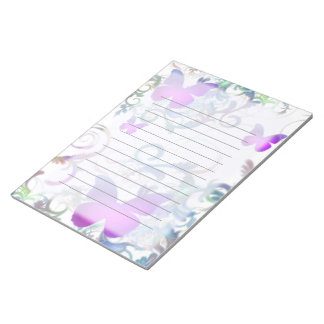 Butterflies Notepad