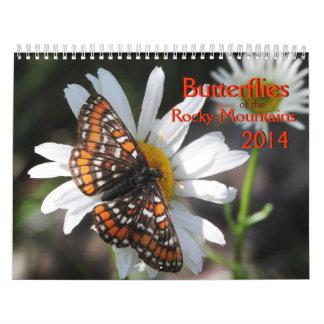 Butterflies of the Rocky Mountains 2014 Calendars