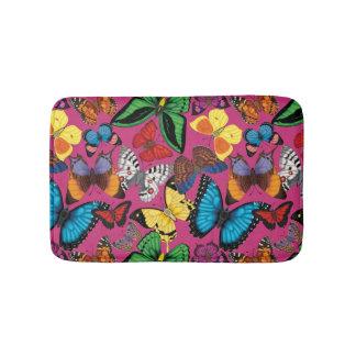 Butterflies of the World Bath Mats