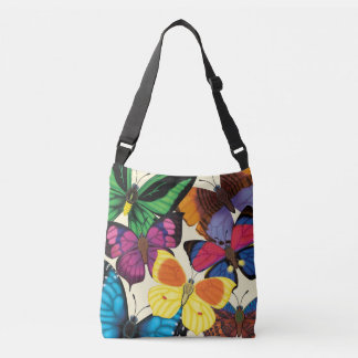 Butterflies of the World Crossbody Bag