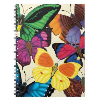 Butterflies of the World Notebooks