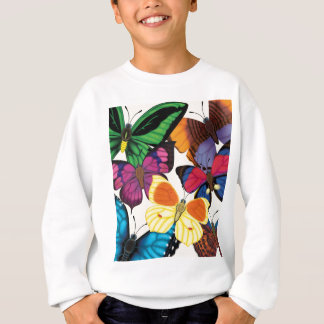 Butterflies of the World Sweatshirt