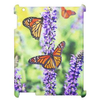 Butterflies on Hyacinth iPad Case