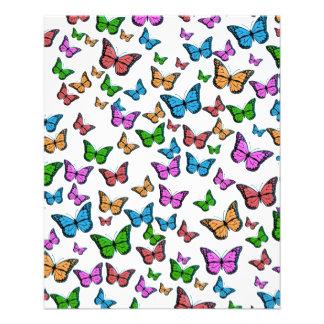 Butterflies Pattern Design Flyer
