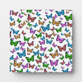 Butterflies Pattern Design Plaque