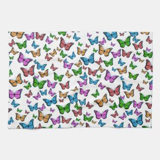 Butterflies Pattern Design Tea Towel