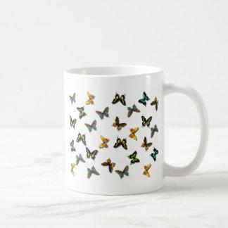 Butterflies Pattern Coffee Mugs
