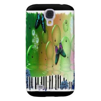 Butterflies Piano Keys Galaxy S4 Covers
