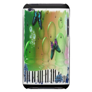 Butterflies Piano Keys iPod Touch Case