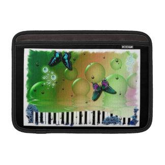 Butterflies Piano Keys MacBook Air Sleeves