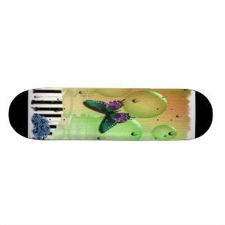 Butterflies Piano Keys Skate Board Decks