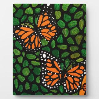 butterflies plaque