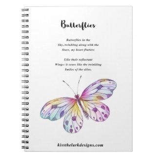 Butterflies - Poetry - Jessica Fuqua - Note Books