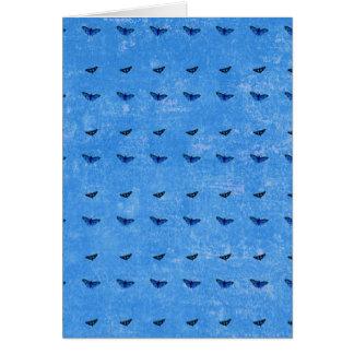 Butterflies print card