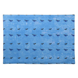 Butterflies print placemat