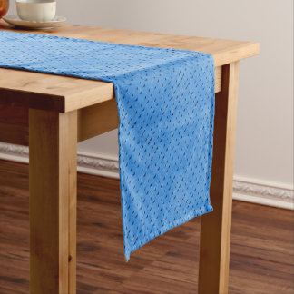 Butterflies print short table runner