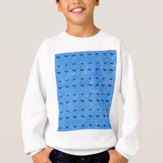 Butterflies print sweatshirt