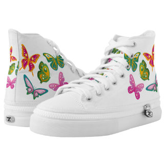 Butterflies Printed Shoes