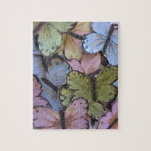 Butterflies Puzzle with Gift Box